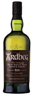 Whisky ARDBEG 10 years old Non Chill-Filtered